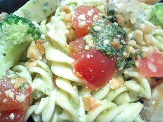 フレッシュバジルとトマトのサラダ  a