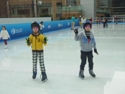 アイススケート002