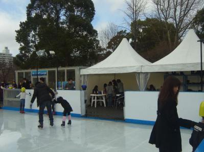 アイススケート004