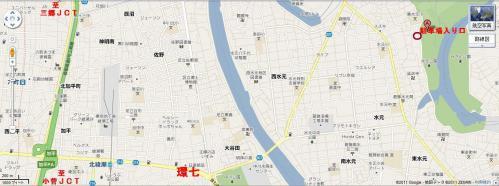 水元公園地図