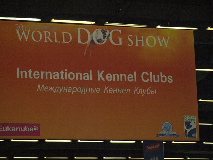 World Dog Show 2011 Paris