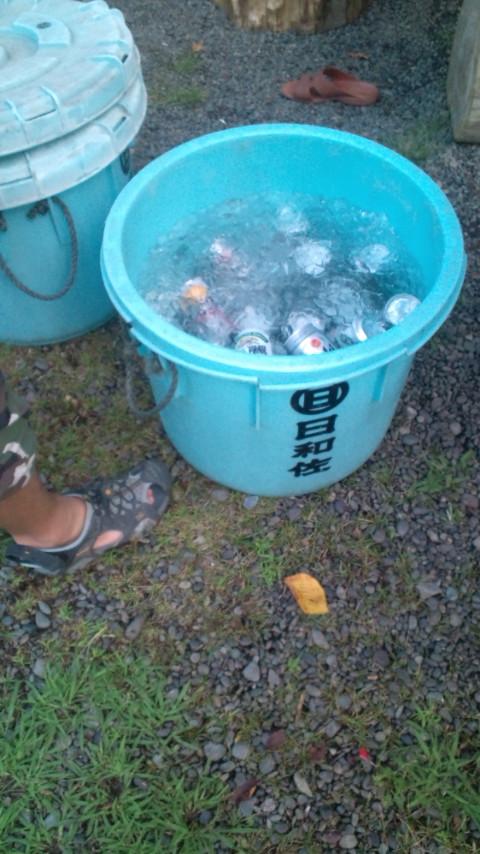 ビール・・・冷え!冷え!