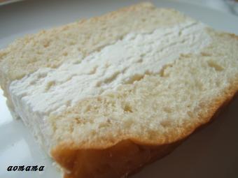 小松パン 牛乳パン断面
