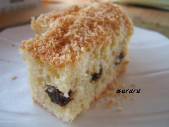 10月ココナッツのケーキ