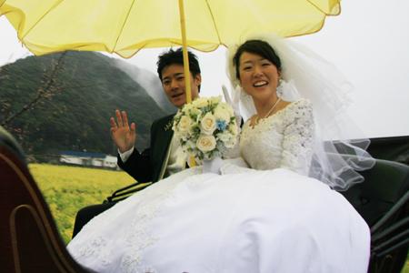 菜の花結婚式2