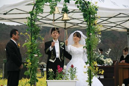 菜の花結婚式4