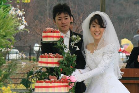 菜の花結婚式5