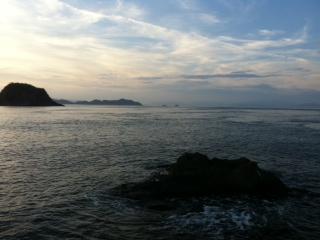 釣り場からの風景20110910