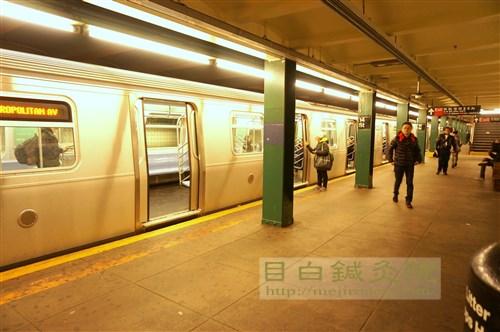 地下鉄ニューヨーク6
