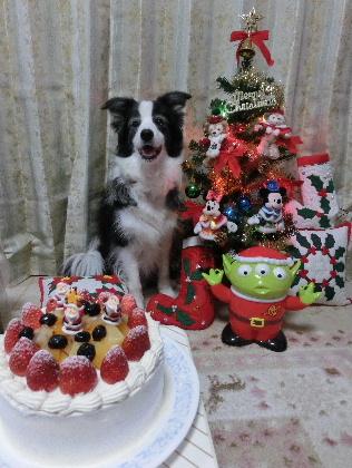 131224クリスマスケーキ1