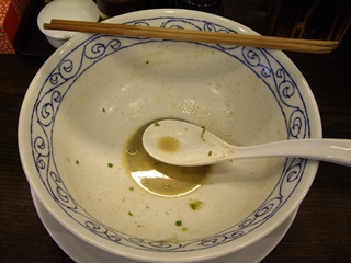 あら焼鶏白湯カシムラ 濃厚あら焼き鶏白湯そば(空丼)