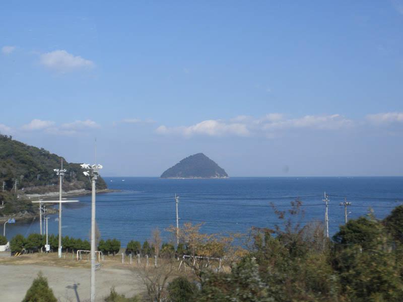 日豊本線からの景色