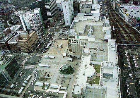 札幌タワーから2