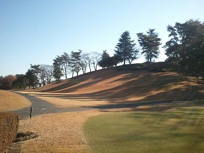 20131203初冬のゴルフ場