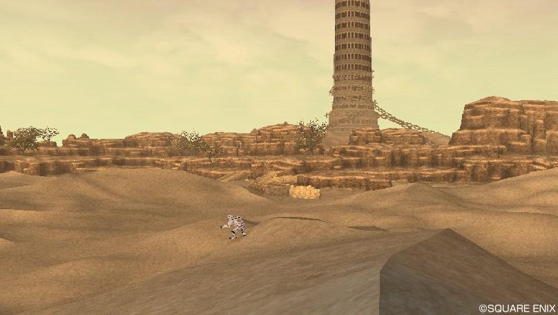 デフェル荒野 砂漠
