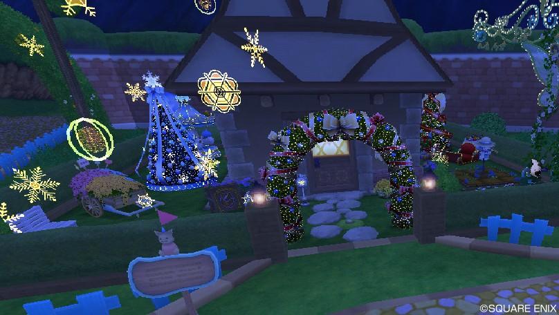 クリスマス庭具1