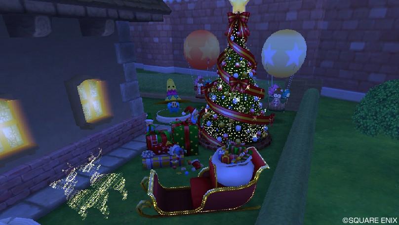 クリスマス庭具2