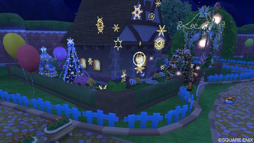 クリスマス庭具3