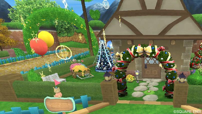 クリスマス庭具(昼)1