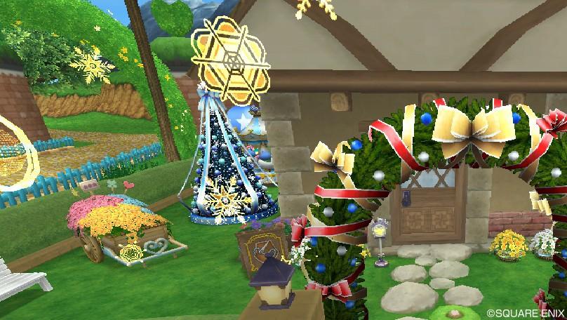 クリスマス庭具(昼)2