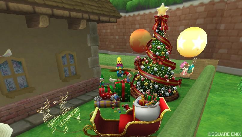 クリスマス庭具(昼)3