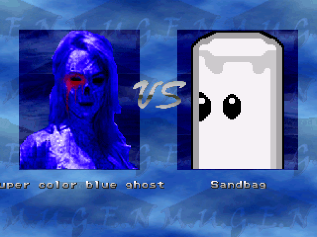 super color blue ghost 黒いウサギと紅い妹と俺