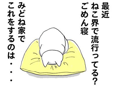ごめん寝1