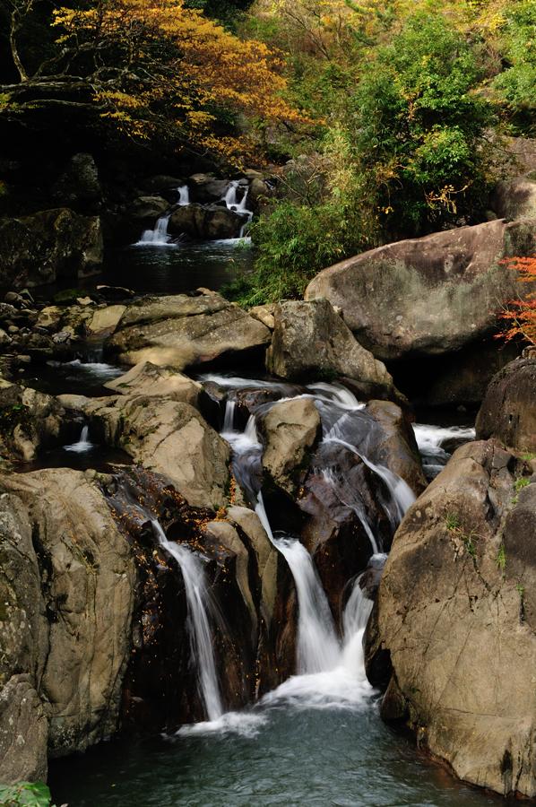 筑紫耶馬溪 鮎返しの滝