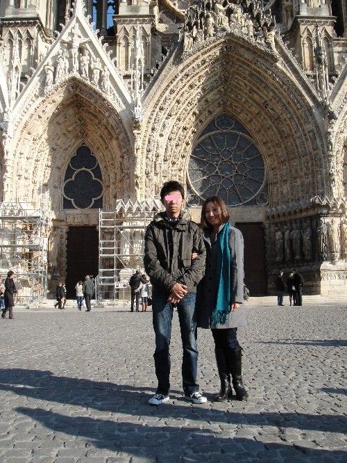 カズタと大聖堂前