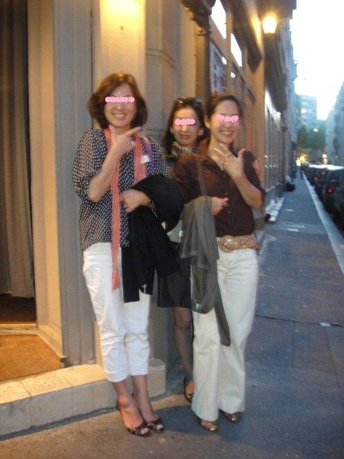 ゆうこちゃん、亜紀子さん、章子ちゃん