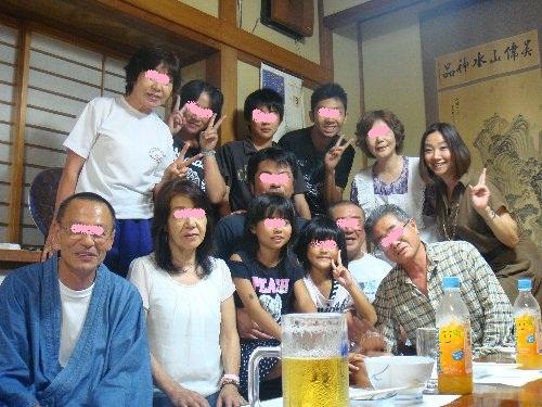 梅川さんで集合写真