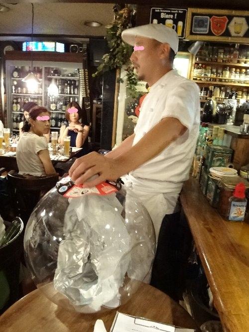 ビールの説明 丸山さん