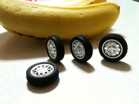 ビートまずタイヤ組立て