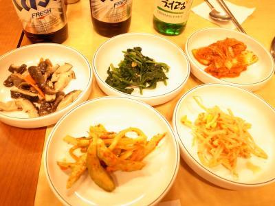 韓国料理・前菜