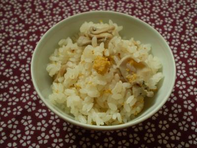 いちご煮の炊き込みご飯