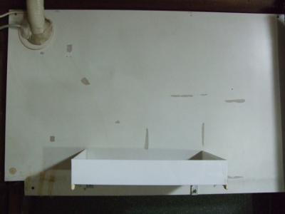 飾り棚の製作前