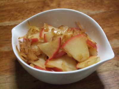 りんごと生姜酢のコンポート
