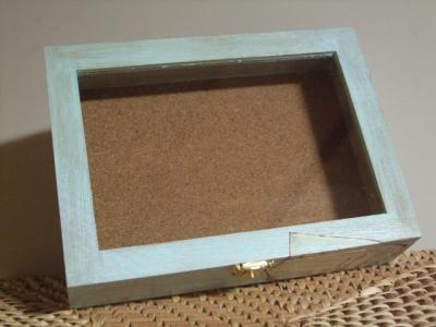 アンティ-ク風味な標本箱