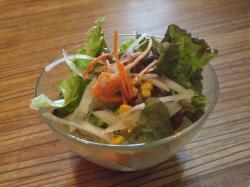 『signe』のランチのサラダ