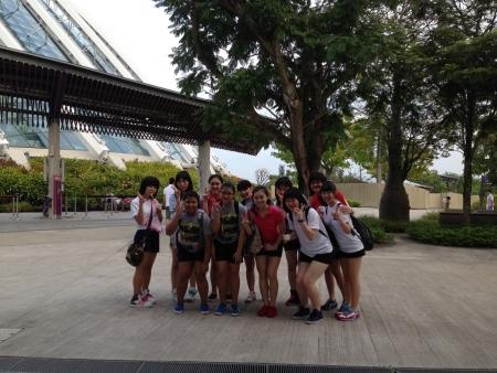 シンガポール(フラワーガーデン)