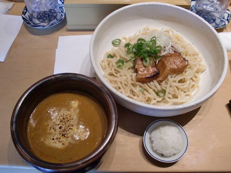 ひかり製麺堂@汐留・カレーつけ麺