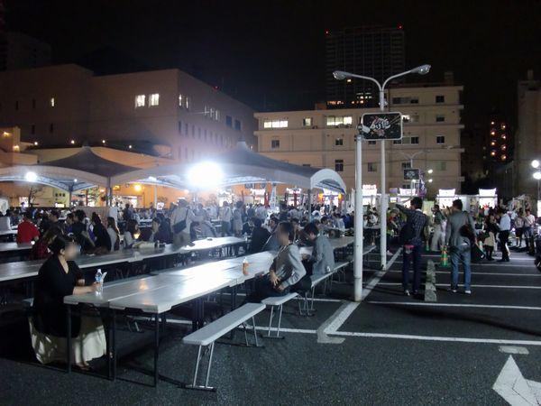 大つけ麺博2011@大門・会場