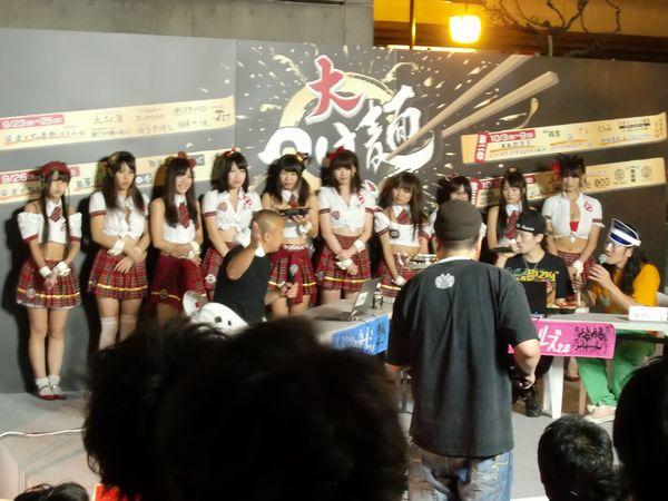 大つけ麺博2011@大門・ステージ