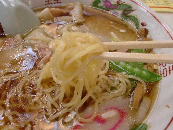 中園亭@有楽町・麺上げ