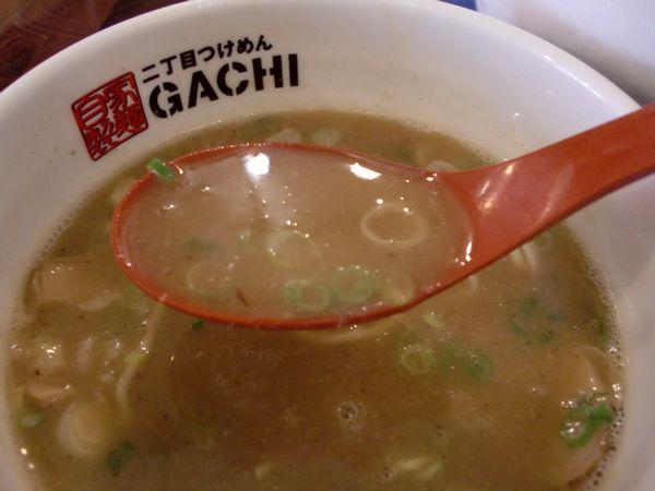 GACHI@新宿・淡麗醤油・つけ汁