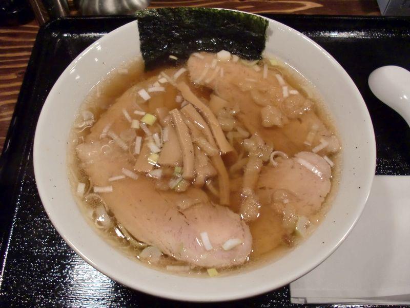 マルゴ食堂@新橋・チャーシューそば