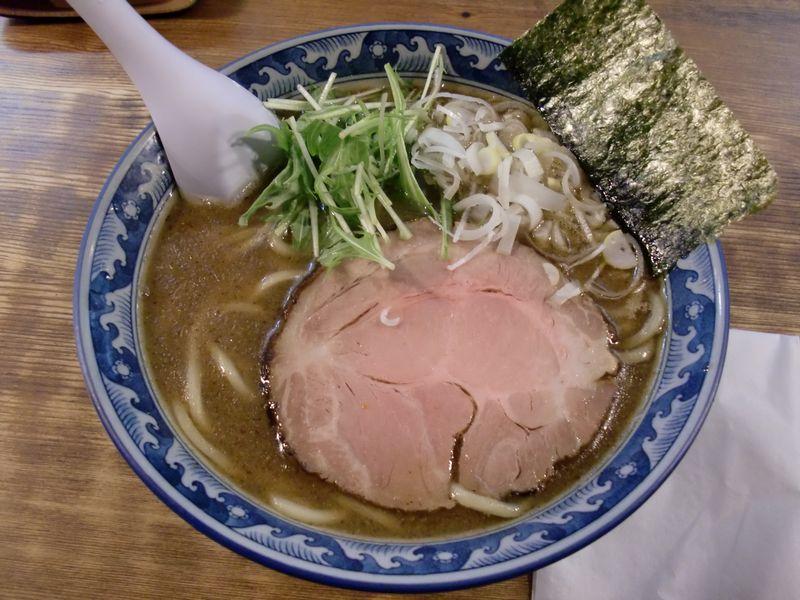 翔丸@大久保・醤油ラーメン