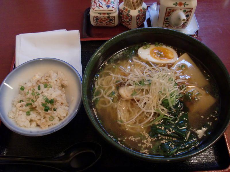 真魚@新橋・香正油鯛拉麺