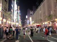桔梗@新橋・お祭り1