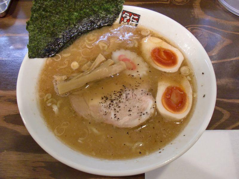玉五郎@新宿三丁目・味玉煮干